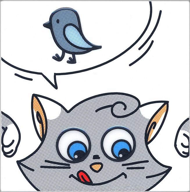 NT/A134/5009 | Декор Кошки-Мышки. Птичка