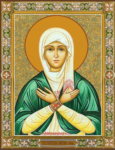 Икона Святая праведная праматерь Лия