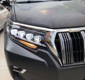 Передняя оптика альтернативная для Toyota Land Cruiser Prado 2017 -