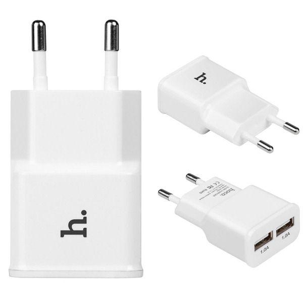 Зарядное устройство с USB HOCO UH202 (2100mA,5V)