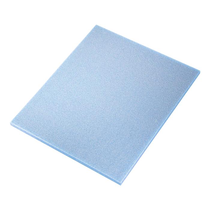 Sia ABR Абразивная губка Flat pad Fine (Alox), односторонняя, 115мм. x 140мм. x 5мм., P500