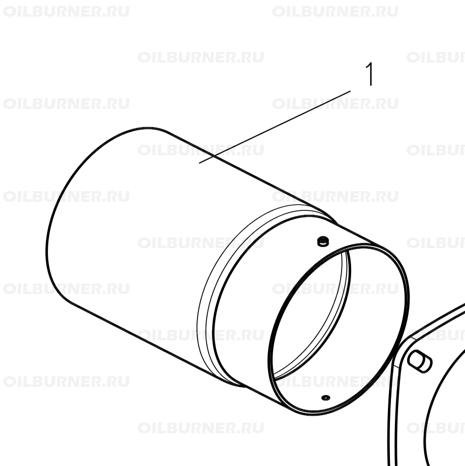 Горелочная труба GU100 арт. 47-90-27900