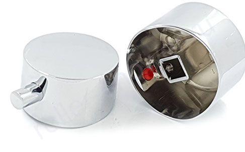 Ручка для смесителя душевой кабины для подачи воды ST03 (хром, металл)