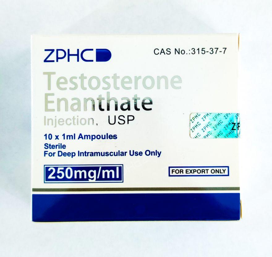 Testosteron Enanthate ZPHC 10 ампул x 250mg/ml