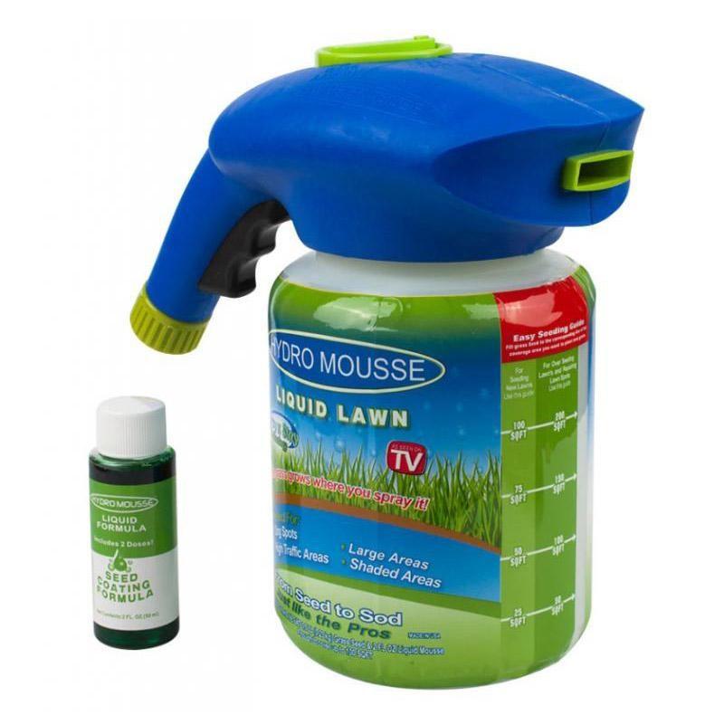 Жидкий газон Hydro Mousse (гидропосев)