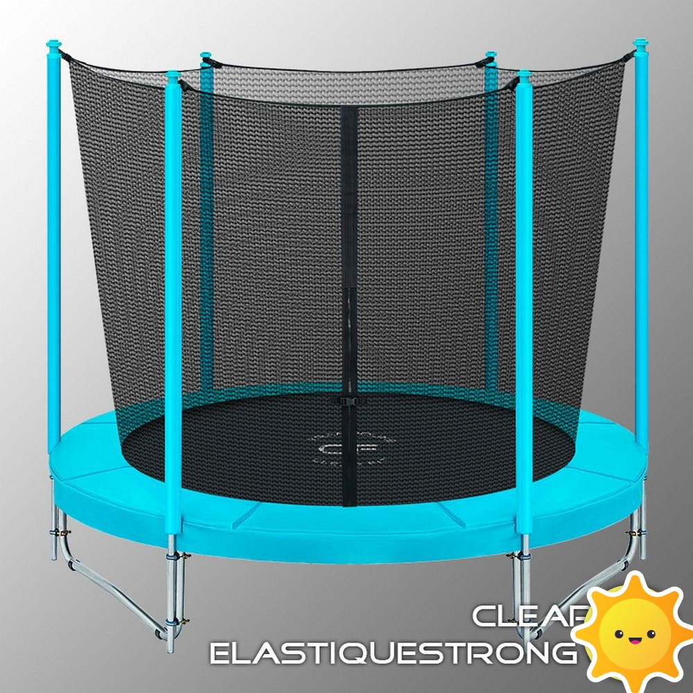 Батут CLEAR FIT ElastiqueStrong 8ft  244см
