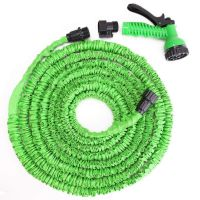 Шланг водяной Xhose (Икс Хоуз) с распылителем (30 м., зелёный)