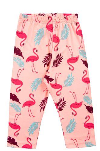 """Бриджи для девочек 3-7 лет Bonito kids """"Фламинго"""" коралловые"""
