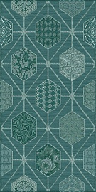 Декор Devore Indigo Geometria