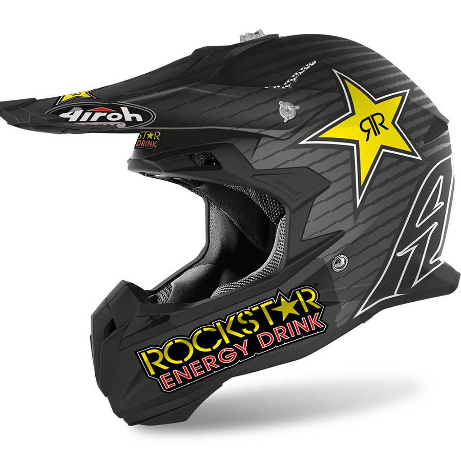 Airoh Terminator Open Vision Rockstar 2020 шлем внедорожный