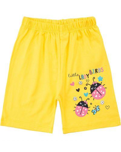 Шорты для девочек 1-5 лет Bonito kids желтые