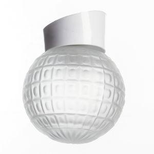 """Светильник настенно-потолочный """"Гранат"""" наклонный 1 лампа Е27 60W матовый,белый 15х15   2588630"""