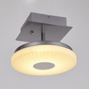 Светильник 054/1 LED серебро/белый высота 18см 4868577