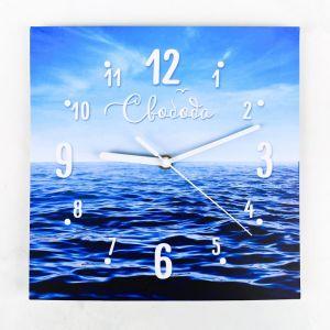 Часы настенные «Море», 26 ? 26 см, с декором 3868625
