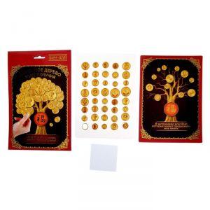 Фэн-шуй панно «Денежное дерево благополучия»