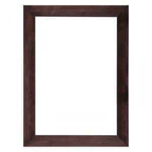 Рама для зеркал и картин дерево 21 х 30 х 3.0 см, липа, венге