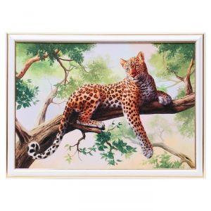 """Картина """"Гепард на дереве"""" 25х35 см (28х38см)  4832492"""