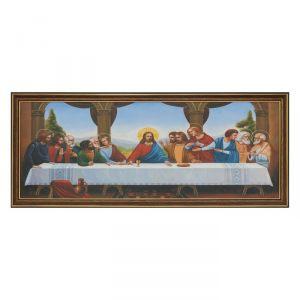 """Картина """"Тайная вечеря"""" 23х53 см   4008893"""