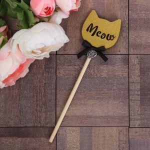 Декоративный штекер «Meow», 7 ? 14 см 4019337