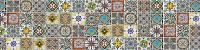 Фартук для кухни (стеновая панель) Марокканские узоры