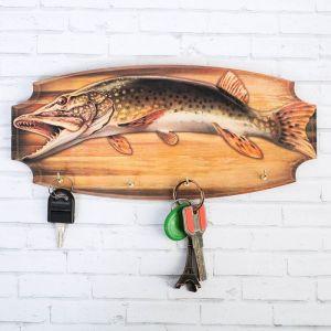 Ключница «Рыба», 17 х 14 см