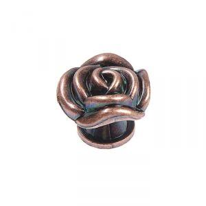 Ручка кнопка Rose 01, цвет медь   4647192
