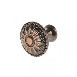 Ручка кнопка РК112, цвет медь 2388021