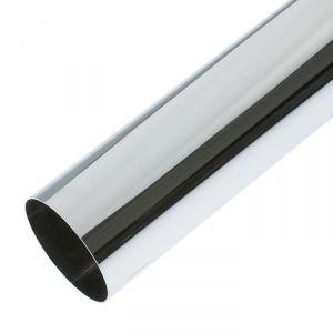 Труба, 3 м, d=50 мм, сталь 0.9 мм, цвет хром   3673704