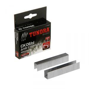 Скобы для степлера TUNDRA закалённые, тип 53, (11.3 х 0.7 мм), 14 мм (1000 шт.) 1112953