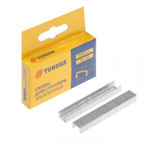 Скобы для степлера TUNDRA закалённые, тип 53, (11.3 х 0.7 мм), 8 мм (1000 шт.) 1112950