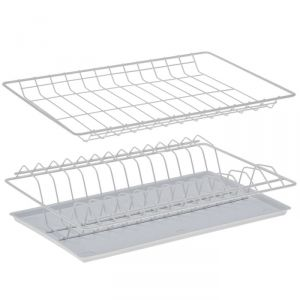 Комплект посудосушителей с поддоном 36,5х25,6 см, для шкафа 40 см, цвет белый
