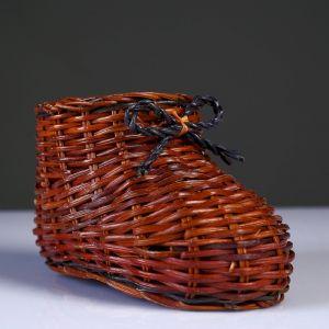 Сувенир «Ботинок», 9?14?8,5 см, лоза   4558431