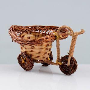Сувенир «Велосипед», 10?15?7 см, ива   4501524