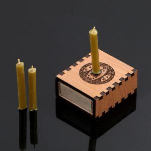 """Набор ларец желаний """"Богатство"""" со свечками, 5,2х4,5х2 см 2343114"""
