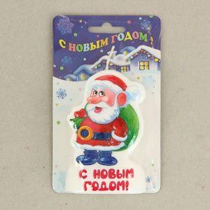 "Свеча-барельеф ""Дед мороз"" 1487492"