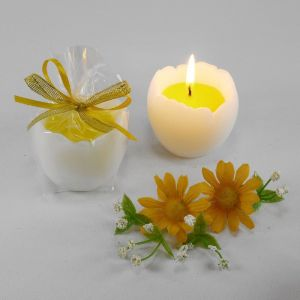 "Декоративная свеча ""Яйцо с желтком""   1305037"