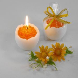 """Декоративная свеча """"Яйцо с икрой""""   1305038"""