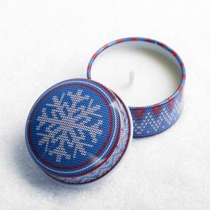 Свеча в баночке «Уютное Рождество»