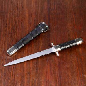 Кортик, рукоять и ножны с рёбрами, 29,5 см 258215
