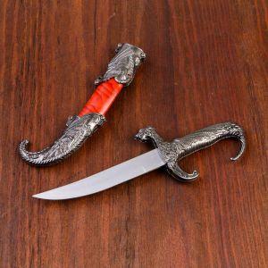 Сувенирный нож, 23 см рукоять в форме дракона 258156