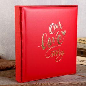 "Фотоальбом  ""Our love story"" 29х32 см. 30 листов   4730033"