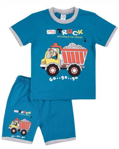 "Костюм для мальчика Bonito kids ""My Truck"" индиго"