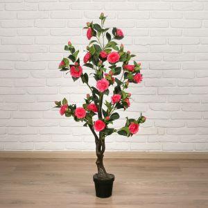 """Дерево искусственное """"Куст розы"""" 120 см, малиновый   4444926"""