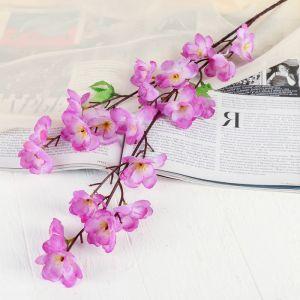 """Цветы искусственные """"Ветка яблони"""" 4,5*58 см, сиреневый   4301688"""