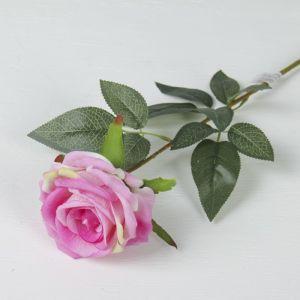 """Цветы искусственные """"Роза Ариозо"""" 9*70 см розовый  3110195"""