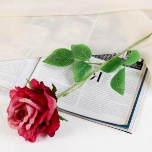 """Цветы искусственные """"Роза петра"""" 7,5*55 см, фиолетовая   3933365"""
