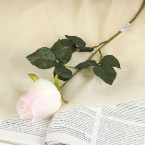 """Цветок искусственный """"Роза"""" розовая"""