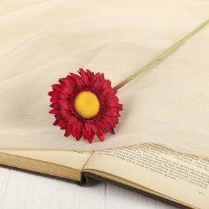 """Цветок искусственный """"Гербера Алмак"""" 8*44 см, красный   2248781"""