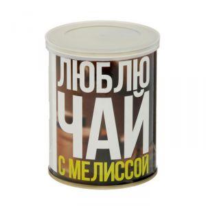 """Растущая травка в банке """"Я люблю чай с мелиссой"""" (мелисса, набор для выращивания) 2099113"""
