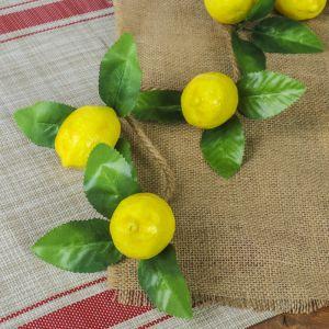 Связка искусственных лимонов (5 шт.)